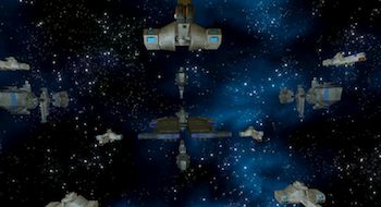 Wing Commander: Fleet Assault - Flottendemonstration