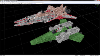 Screenshot: Wing Commander 2 Fresspace 2 Remake
