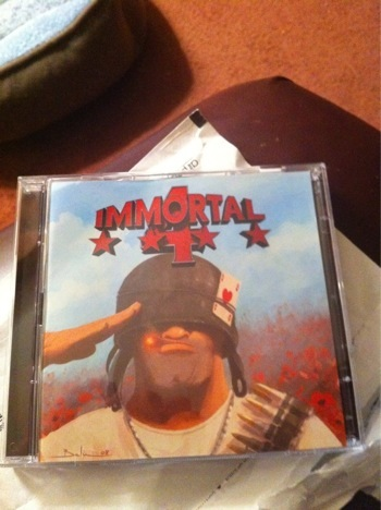 Immortal 4 Cover