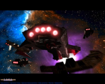 Wing Commander Saga Wallpaper
