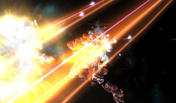 Screenshot: Sword of the Stars